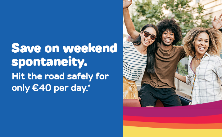 Save on weekend spontaneity LU/EN