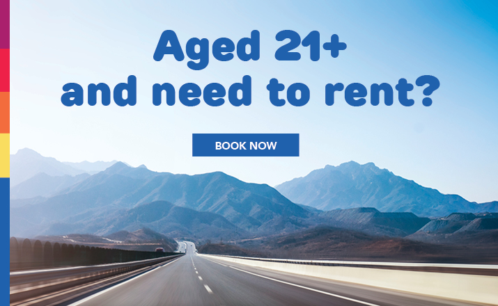 Over 21 and ready to rent?